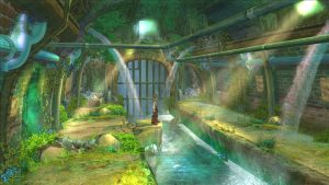 Even the sewer levels are pretty in Eternal Sonata!